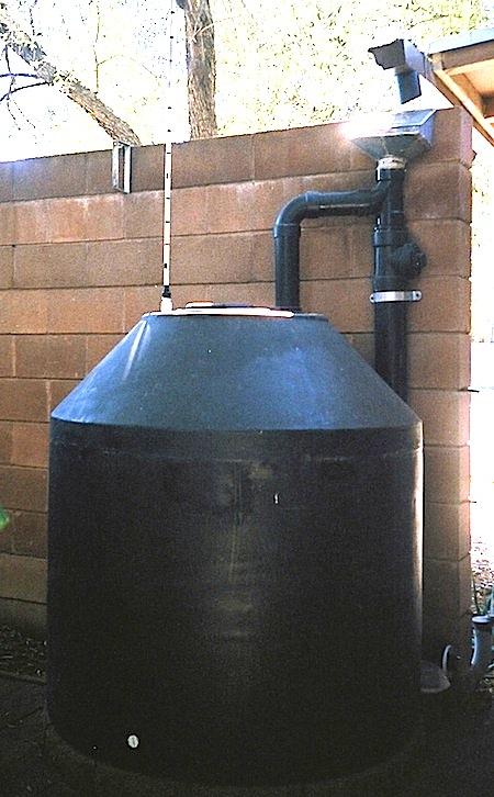LEAF Network Linking Edible Arizona Forests - Rainwater Tanks